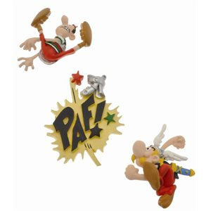 Set de 3 mini aimants Asterix