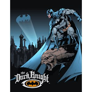 Enseigne metal Dark Knight