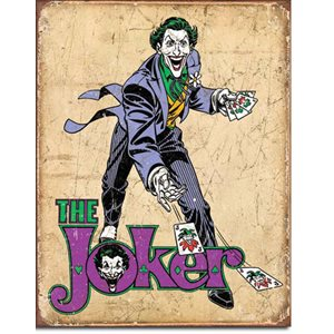 Enseigne metal The Joker