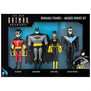 Ens. fig. Batman Heros Masque