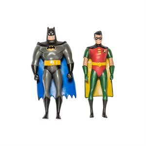 2 fig. flex. BTAS 3: Batman / Robin