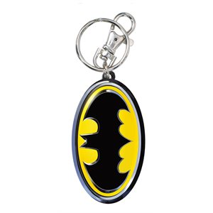 Porte-cle metal couleur Batman