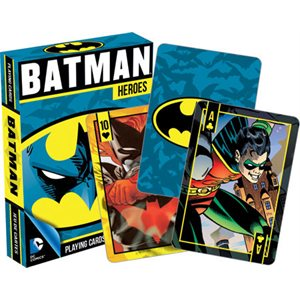 Playing cards Batman Heroes