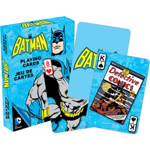 Jeu de cartes retro Batman