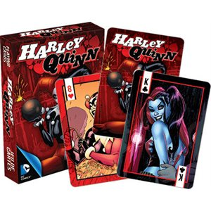 Harley Quinn Comics Playing Cards