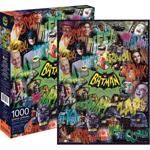 Casse-tete 1000pcs Batman collageTV