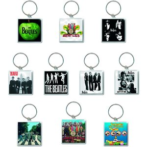 Beatles assorted keychains