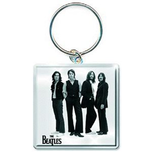 The Beatles black&white keychains