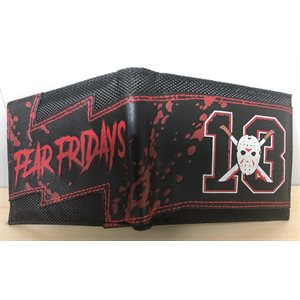 FRIDAY THE 13TH BLACK BIFOLD WALLET