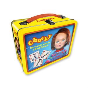 Chucky G2 metal lunch box