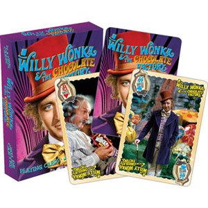Jeu de cartes Willy Wonka