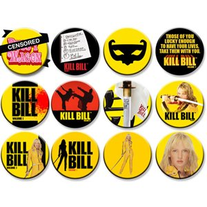 Kill Bill Display 144 buttons