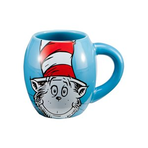 Dr Seuss Cat in the hat 18oz Oval mug
