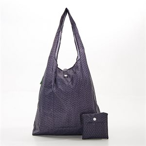 sac magasinage noir cubes