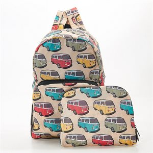 beige camper vans backpack