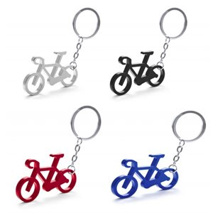 Aluminium bicycle keychain