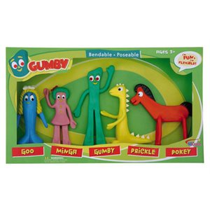 Coffret fig Gumby & friends
