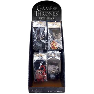 Porte-cles Game of Thrones 48 assor