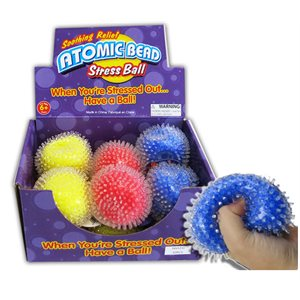 Balle anti-stress atomique D / 12