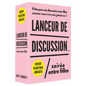 Lanceur de discussion-Soiree filles