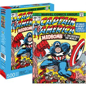 Captain America Cover 500pc Puzzle