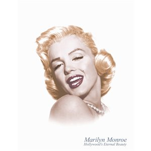 Enseigne metal Marilyn-Eternal #