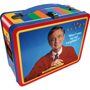 Boite lunch metal G2 Mister Rogers