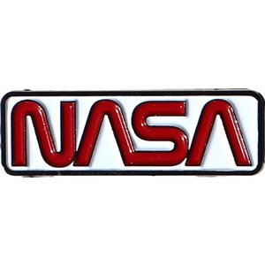 NASA RETRO LOGO ENAMEL PIN