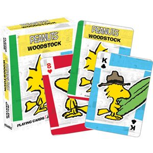 PEANUTS - WOODSTOCK Playing Cards
