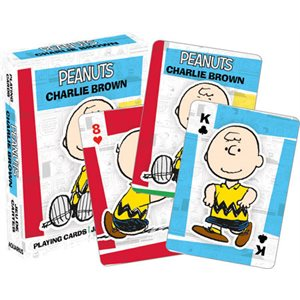 Jeu de cartes PEANUTS - CHARLIE BROWN