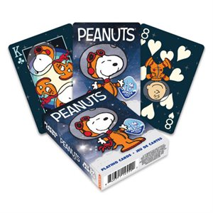 PEANUTS - SNOOPY IN SPACE Playing Cards