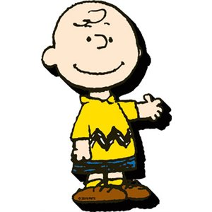 Funky chunky CHARLIE BROWN magnet