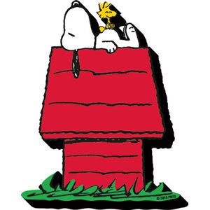 Aimant funky chunky SNOOPY DOG HOUSE