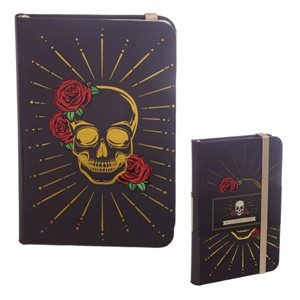 Skulls & Roses A6 Lined Notebook