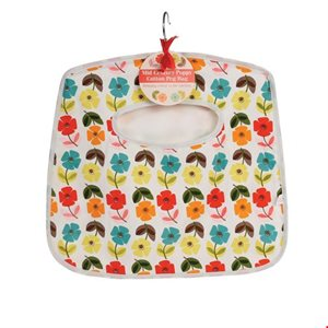 Poppy peg bag with hanger