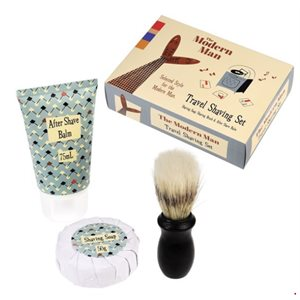 modern man travel shaving kit