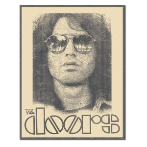 Enseigne Metal The Doors 12x16