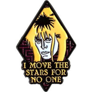LABYRINTH MOVE THE STARS ENAMEL PIN