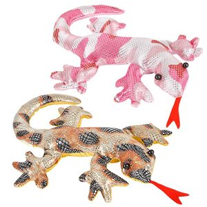 Peluche brillante Lezard