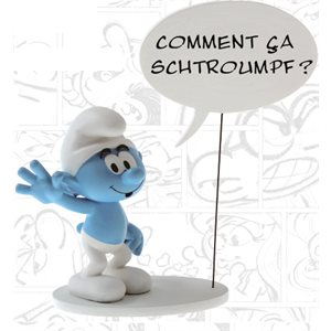 22cm Statue How do you smurf?