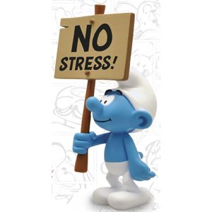 Smurf No Stress Figurine