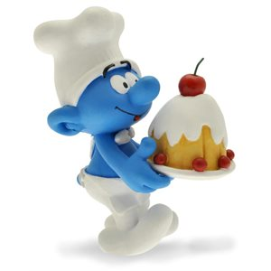 Smurf Chef Figurine