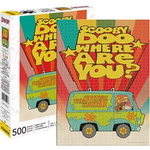SCOOBY DOO WHERE ARE YOU 500pc Puzzle