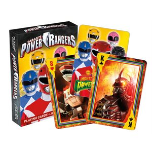 Jeu de cartes Power Rangers