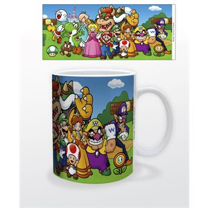 Tasse 11oz Super Mario Personnages