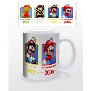 Tasse 11oz Super Mario Dates