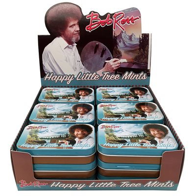 Menthes Bob Ross Arbres pres / 18